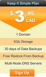 Cheap Canadian Web Hosting